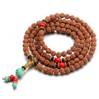 中国•108颗藏式金刚菩提子项链手链2用