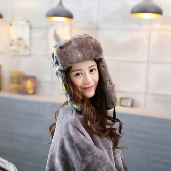 中国•迷彩雷锋帽保暖口罩