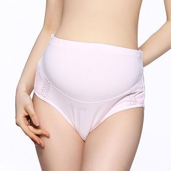 婧麒孕妇托腹内裤粉红色