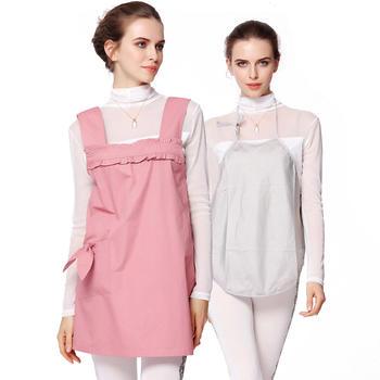 婧麒孕妇防辐射服A套装粉红色
