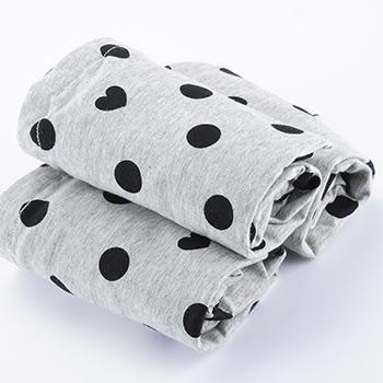 婧麒孕妇内裤纯棉托腹组合装三灰