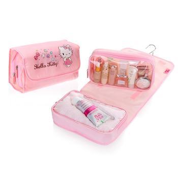 HELLO KITTY 旅行用悬挂式化妆品洗漱包