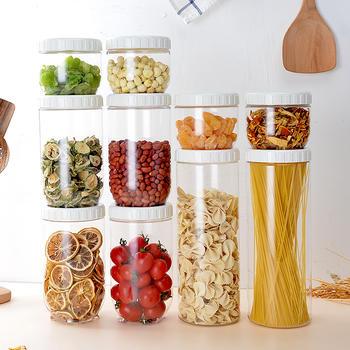 乐扣乐扣新概念塑料储物罐10件套装储物罐