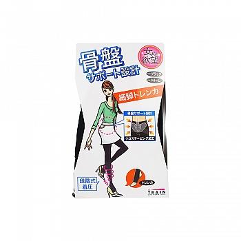 日本•女人的欲望 着压提臀连裤袜 80DM-L 黑色