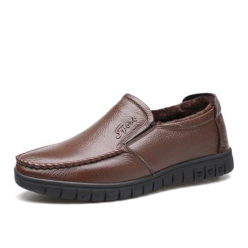 中国•承发休闲皮鞋男鞋  36274棕色