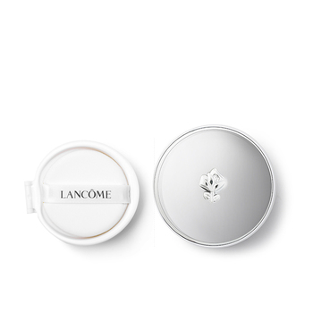 法国•兰蔻(Lancome)气垫修颜隔离套装(气垫(又名空气轻垫)修颜隔离乳 SPF20 PA++ 02 14g(替换装)+气垫修颜隔离乳粉盒/空气轻垫粉盒)