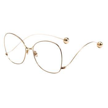 音米复古个性眼镜框精选金属