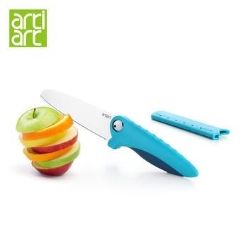 台湾Artiart 鳄鱼刀 带套不锈钢刀