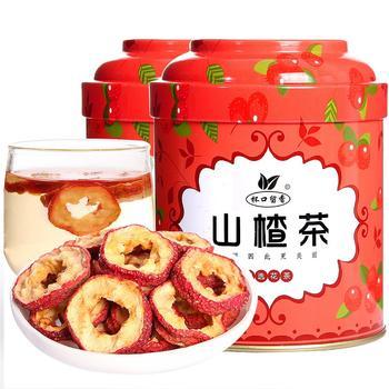 无籽山楂茶80g×2罐