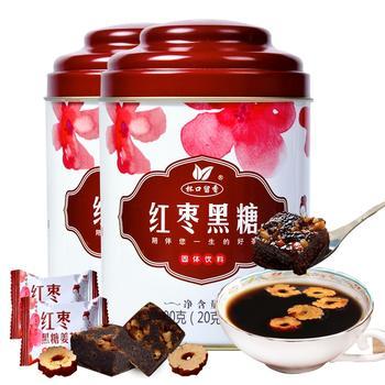 红枣黑糖姜茶200g×2罐