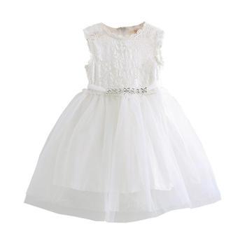 贝壳家族夏女连衣裙qz3305白色