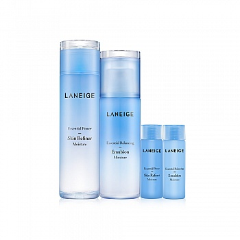 韩国•兰芝(LANEIGE)水衡透润水乳 4件套