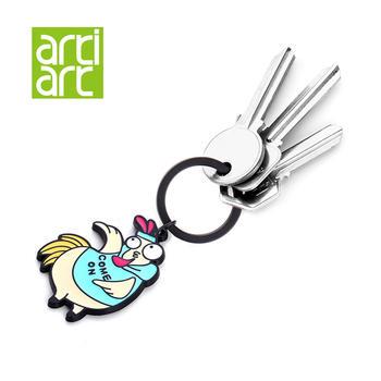 台湾Artiart 卡通十二生肖钥匙链