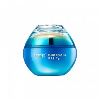 中国•水密码水漾焕能修护霜 50g