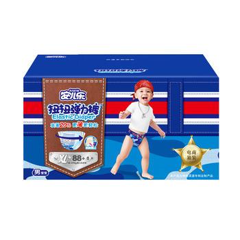 安儿乐扭扭学步裤男宝XL96片