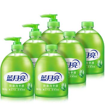 蓝月亮芦荟抑细菌洗手液 1斤x6瓶