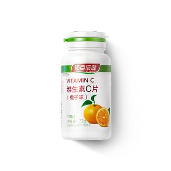 中国?汤臣倍健维生素C片(橘子味)(120片)