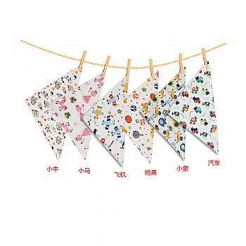 中国•植护 宝宝三角巾  6条组合