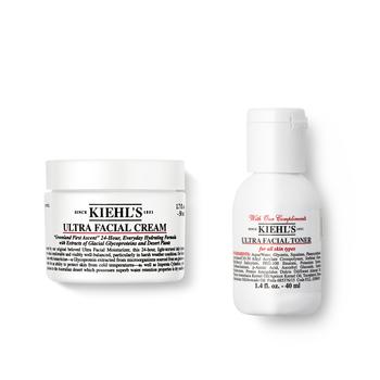 美国•科颜氏 (Kiehl's)高保湿两件套(保湿霜50ml+爽肤水40ml)