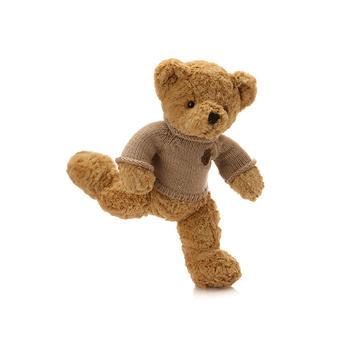 经典脚印毛衣熊毛绒玩具可爱抱抱熊公仔生日礼物60cm