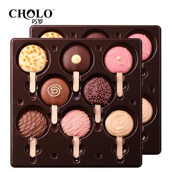 巧罗棒棒糖形巧克力16支礼盒