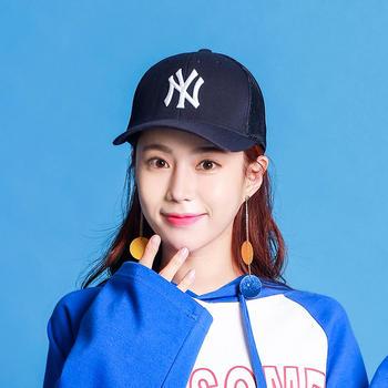 MLB棒球帽藏蓝色(封口)半网帽02