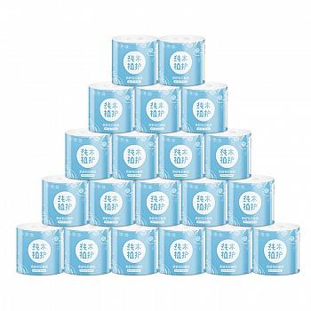 中国•植护亲肤有芯卷纸4层20卷家庭装
