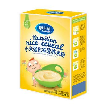 英吉利小米强化铁营养米粉225g