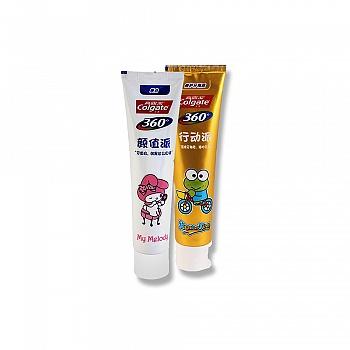 美国•高露洁(Colgate)  Hello Kitty 白金 牙膏套装(360°健康美白200g+360°修护牙釉质200g)