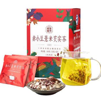 老金磨方 薏仁红豆茶110g 远离湿胖