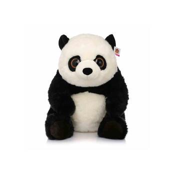 柏文熊 动头熊猫公仔30cm