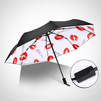 德国iRain童真黑胶可爱清新防晒晴雨伞
