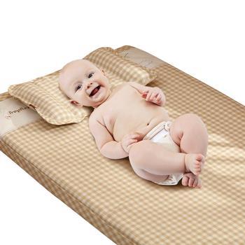 欧孕苎麻婴儿凉席婴儿床小草席