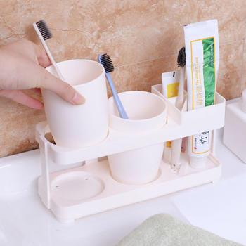 态美 多功能洗漱情侣牙膏牙刷架