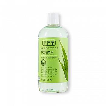 中国•千纤草芦荟精华水(500ml)