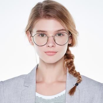 威古氏防蓝光镜框手机电脑圆框护目平光眼镜