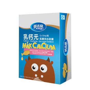 英吉利乳鈣元夾心軟糖30粒/盒