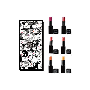 中国•玛丽黛佳网红唇色套盒(6支装)