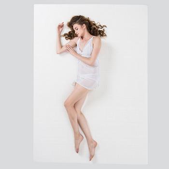 Nittaya妮泰雅 泰国原装进口乳胶床垫5CM送一对乳胶枕
