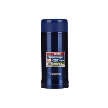 日本象印不锈钢保温杯AGE35-350ml-蓝色-AC