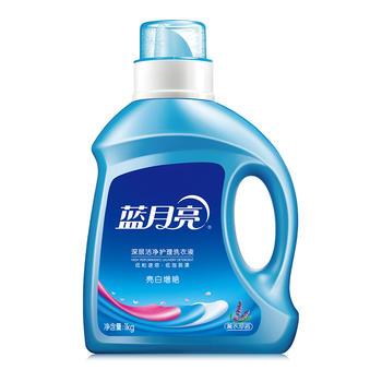 蓝月亮亮白洗衣液薰衣草1kg/瓶