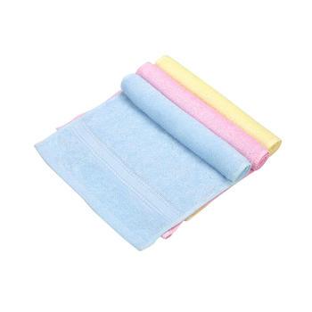 零听竹纤维婴儿童小毛巾隔汗巾