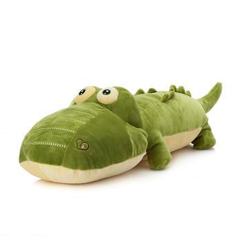 柏文熊趴趴鳄鱼大号抱枕1.2米