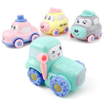 奥贝比儿童惯性小汽车早教玩具车