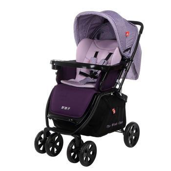 好孩子高景观可躺可坐婴儿推车