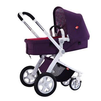 gb好孩子 婴儿高景观推车可坐可躺