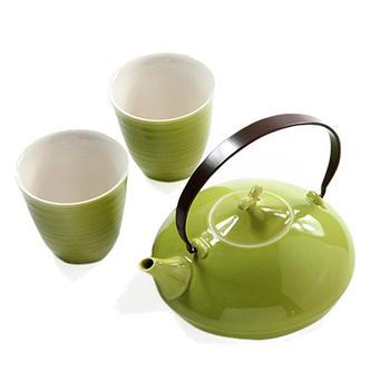 多样屋 日式茶具组-绿