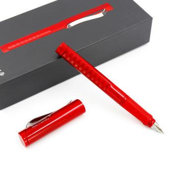 施耐德 经典法拉利红 钢笔 礼盒装