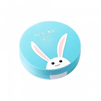 水密码水漾轻盈气垫CC霜15g(自然色)(赵丽颖参与设计水水兔限量版)