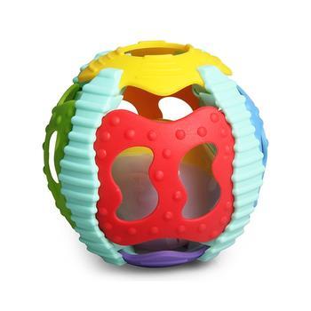 多色声光软胶球 学爬球 抛接球